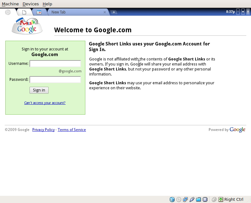 google-chrome-running