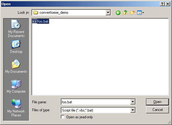 Turn Any File into an EXE with Convert to EXE | GeekLad